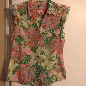 Lilly Pulitzer size 12 blouse